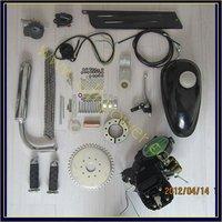 2 stroke 50cc black bicycle engine kits/ gas bike kit C80 with suitable price