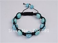 Fashion Beautiful crystal disco ball bracelet SH92