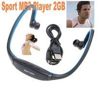 2GB Wireless Headphones Headset Sport MP3 Player Music Player