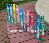 Wholesale - Rubbit Creative UV-Umbrella Sun straight Folding Umbrellas 20PCS Mix order Free shippment