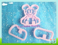 Free Shipping- Mickey Mouse Cookie Cutter Set/Biscuit Cutter Molds/ Pastry Decorating Tools (A-1983)