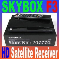 Original SKYBOX F3 satellite receiver with Full 1080P HD,Weather Forecast  video recorder 2012 New version Free shipping