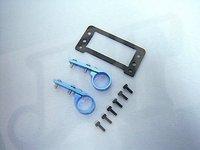 F01581-5 TREX 450 Tail Rudder 9257 servo CF holder frame+ Free shipping
