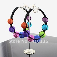 Ювелирный набор PN12333 Jewelry Set Gold Plate Turquoise Blue Resin Beads Chocker Collar Party Gifts