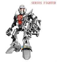 DECOOL robots hero factory fighter hero 1 fighter building block robot figuer action toys top quality free shipping