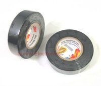 Free Shipping 3M 1600 Vinyl Electrical Tape Insulation Adhesive Tape 7/10 x 65Ft.black, 2  roll