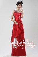 cheap bridesmaid dress mermaid customer made 2012 new style free shipping