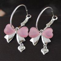 E1182 South Korea edition new adorn article New bowknot bearings 2012 Fashion Jewelry Free Shipping