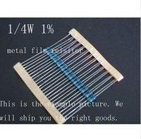 1/4W Watt 0.25W 1% Metal Film Resistor 1200 ohm 1.2k Freeship #  1.2k