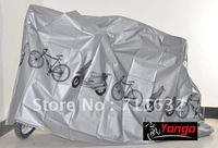 Bicycle Rain Dust Garage Cover for Mountain Road Bike Grey color