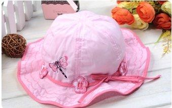 wholesale summer Baby Cap Lovely girl's summer Hats baby hat Children caps summer  fashion kid's  cap kid's sunhat