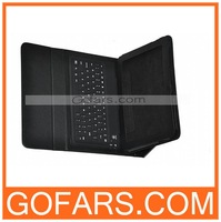 "Bluetooth Wireless Keyboard Leather Case for Samsung Galaxy Tab 10.1"" P7510 P7500,10pcs/lot,High Quality(#001)"