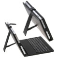 "Free Shipping 1 pc Min Order leather keyboard case USB Keyboard & Leather Cover Case Bracket Bag for 10.1"" Tablet PC MID PDA"