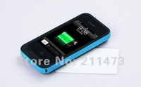 1pc X 2000mAh Backup Battery, Extended Battery and Case Power Pack for iphone 4G and 4S Free Shipping