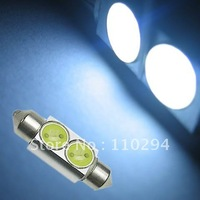 20PCS Festoon car 36mm 2 SMD 2 W 2 LED Light Festoon Interior Reading Dome light Bulbs reading led Interior Lamp