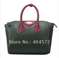DUDU  smile angel series handbag / shoulder leather smiley pack adopt international famous YKK zipper bag