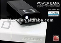 portable Journey Power Bank(4800mah) for Mobile Devices, for iphone 4, for ipad ATP02 free shipping by dhl 20pcs/lot