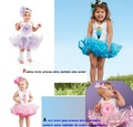 Free shipping!! Wholesale Fashion Baby Girls Dresses Sets TUTU Pettiskirts Top+TUTU Skirts Baby Garment Baby 16sets