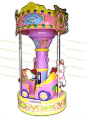 Little horse carousel Coin Operated Game Machine/amusement Machine/kiddie rides/amusement park equipment/(China (Mainland))