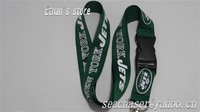 "Fast Shipping(5-9days) nylon football lanyards for sport football keychains 1""*21.8""all star league+Free shipping"