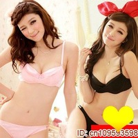 Одежда и Аксессуары Korea style girls seamless bra sets, sports bra set, Popular underwear ladies' cotton bra and panties Nude AB cup