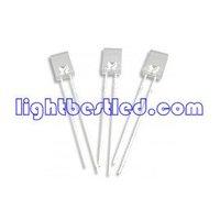 2x5x7 Rectangular type LED,White Color, 6000~65900K,White Diffused Lens,2.9~3.3V,100~250mcd,120deg