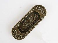 10 pcs 64mm Green ancient dark handle / pastoral style doors drawer / rural Korea European sliding door handle free shipping