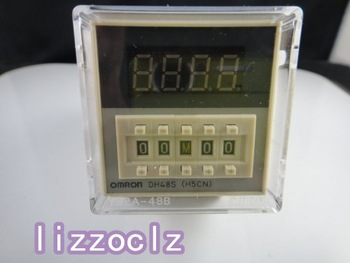 110V/220VAC Programmable DH48S-2Z Time Delay Relay Counter