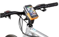 2013 Bike Bicycle Cycling Handlebar bag Pouch Case for Apple Iphone HTC Mobile Phone