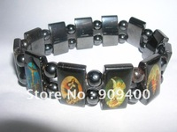Wholesale 2012 hot sell 100% Good Wood  Bracelet Hand jesus Bracelet Wooden jewelry 240pcs/lot
