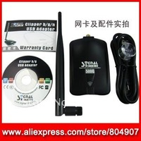 Сетевая карта DHL USB WIFI Adapter Alfa 10G 54Mbps USB 2.0 WiFi Wireless Network Dongle Omni Detachable 6dBi Antenna