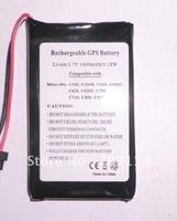 Free shipping 10pcs/lot 3.7V 1400mAh OEM/Replacement battery for Mitac Mio C320 C320B C323 C520 C520t C620 C620T C700
