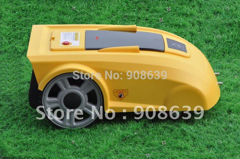 New Li-ion Battery 2900 Automatic Lawn Mower With Newest Function :ELECONTRONIC COMPASS HELP MOWER GOES WELL+CE&ROHS(China (Mainland))