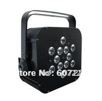 LED flat par LED Par light 12pcs*10watt RGBW (4in1) par64 light for disco & KTV light&DJ party