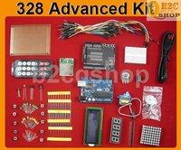 328 Advanced Kit IR Remote lcd SD LED Servo ProtoShield