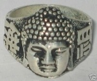 Beautiful tibet Ethnic&Tribal Tibet silver buddha ring