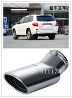 1 pc 304 Stainless steel Muffler Exhaust Pipe for Highlander
