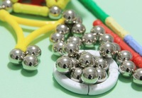 Free shipping,100% Witka Strong magnetic intelligence toys,Magnetic ball ,200pcs/lot Diameter 1.2cm