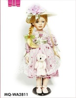 2012 new style fashion porcelain dolls