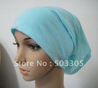 Ms12031719 free shipping cotton lengthen full-open muslim inner hats,inner caps,muslim hats,islamic hats,islamic hijab,hot scarf