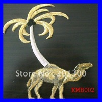 EMB002 embroidered emblem,FREE SHIPPING