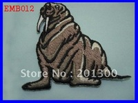 EMB012 heat transfer embroidered patch,FREE SHIPPING