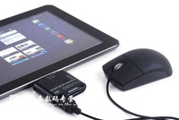 Galaxy Tab OTG Connection. Connection kit P7300/P7310/P7500/P7510 Card Reader + USB for SAMSUNG Galaxy Tab