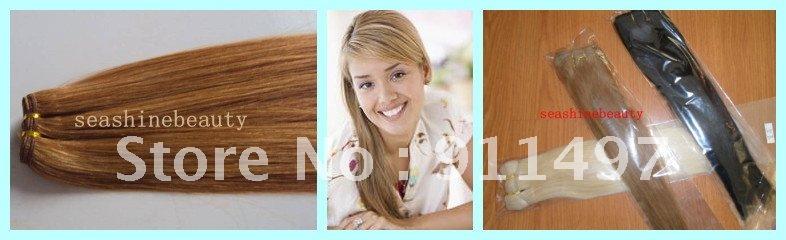 Seashinebeauty 8/28' 100% /100 weave-002 seashinebeauty 18 26 100 100 u tip 028