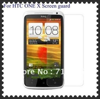 For One X Screen Protector Screen Protector Screen Guard for HTC One X W/ retail package 100pcs/lot Free Shipping