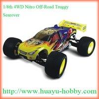 1/8th 4WD Nitro Off-Road Truggy _Searover 2ch 2.4G system 94085 RTR
