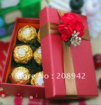 Best selling! EMS Free shipping! 30 pcs/lot  wedding candy box, Christmas box-M . Retail/wholesale