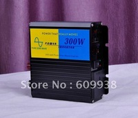 300W 12V to 220V DC to AC Pure Sine Wave Solar Panel Inverter Free Shipping