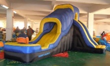inflatable bouncer, house bouncer , jumping slide bouncer(China (Mainland))