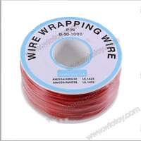 Wrapping Wire Wrap Red 300 Meters AWG30 Cable 11921